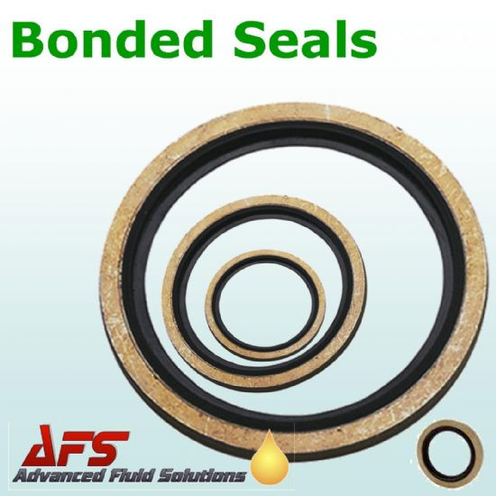 Imperial Self Centring Bonded Dowty Seals Washers
